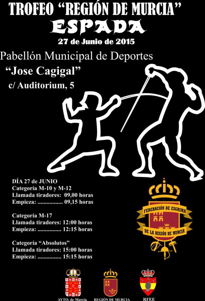 Cartel Region de Murcia 2015